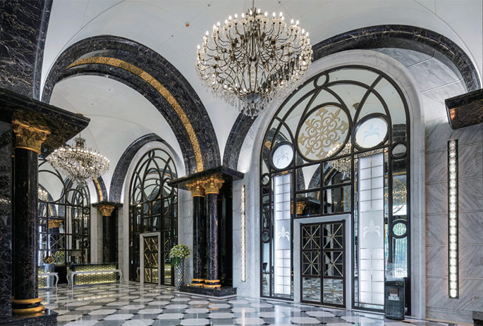 Architectural entrance
