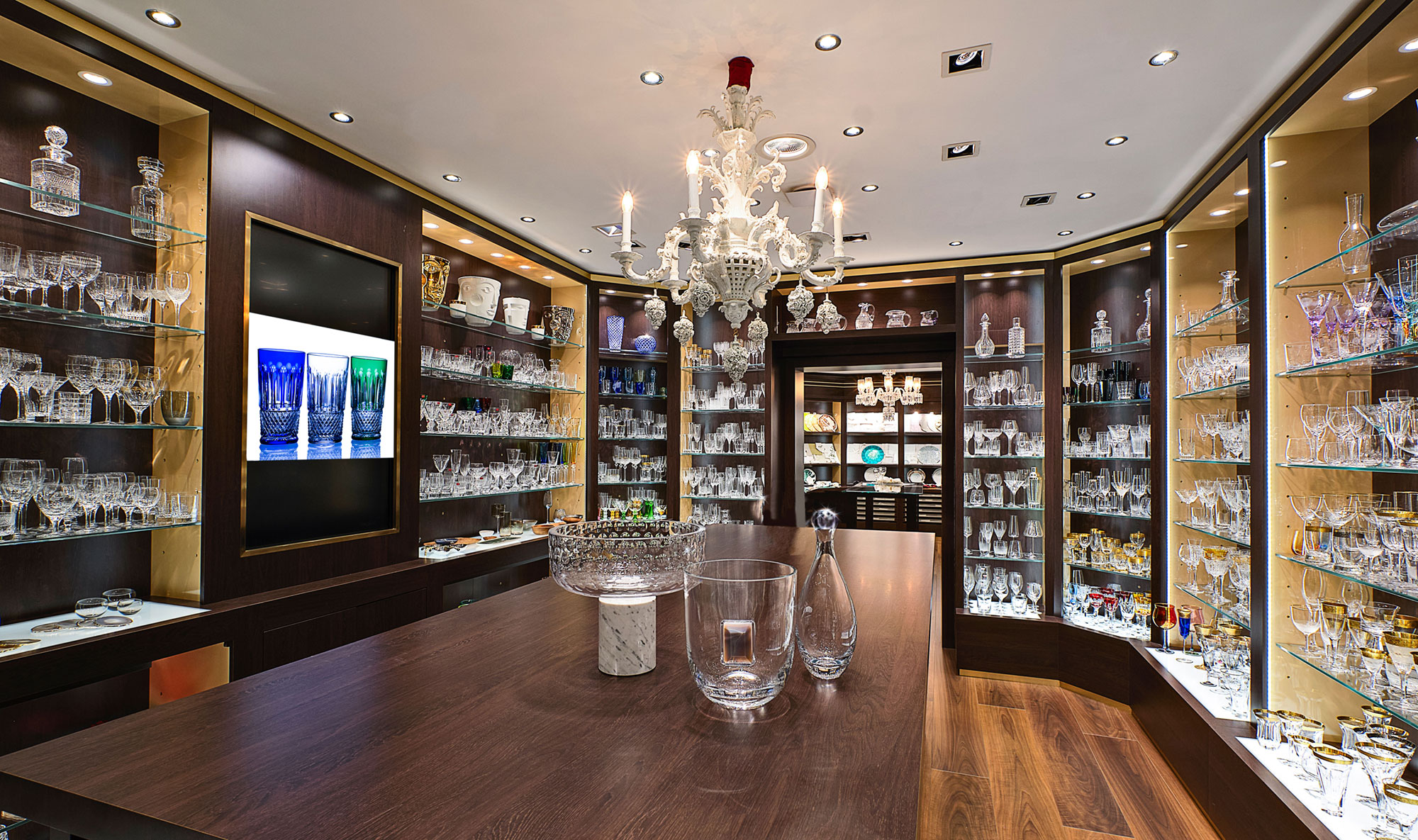The Glancy Fawcett Crystal Showroom