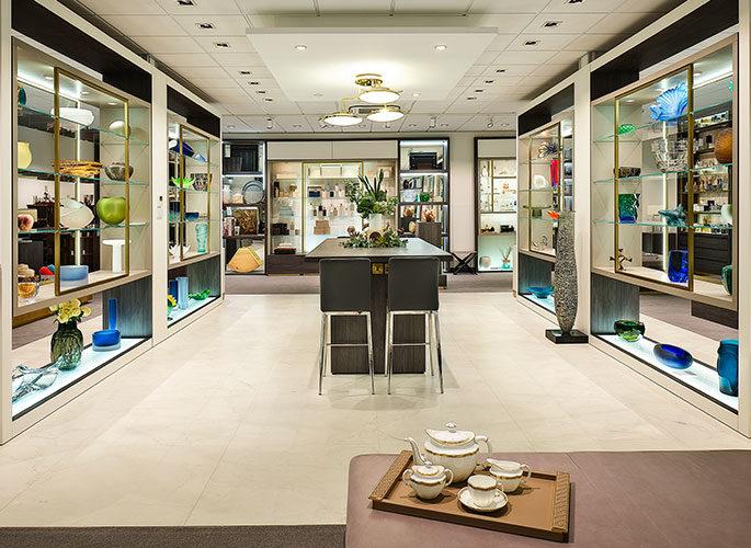 Glancy Fawcett Accessories Showroom