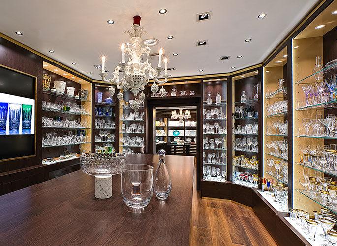 Glancy Fawcett Crystal Showroom