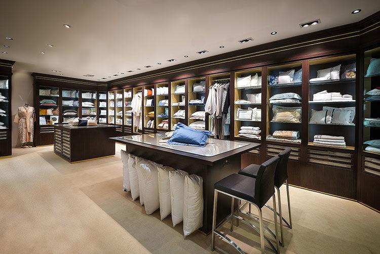 Glancy Fawcett Linens Showroom